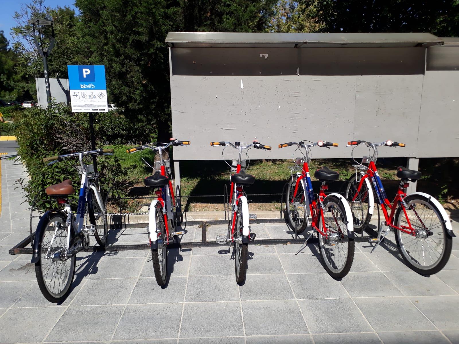 Yıldız Teknik Üniversitesi bisiklet kiralama istasyonu